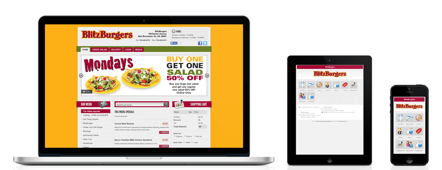 Food Ordering System