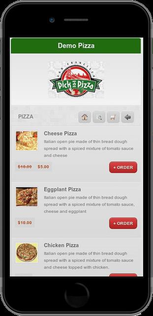 Restaurant Mobile Online Ordering System